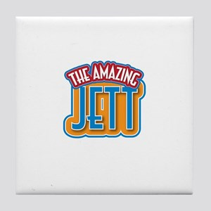 The Amazing Jett Tile Coaster
