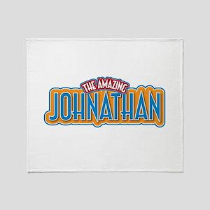 The Amazing Johnathan Throw Blanket