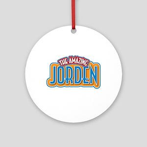 The Amazing Jorden Ornament (Round)