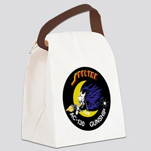 AC-130 Spectre Canvas Lunch Bag