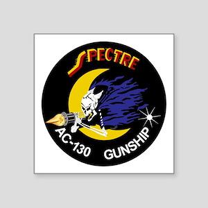 "AC-130 Spectre Square Sticker 3"" x 3"""