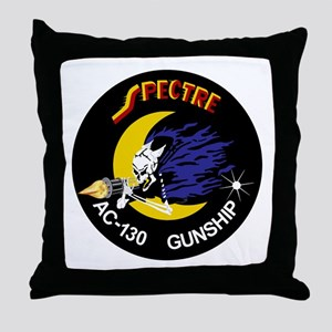 AC-130 Spectre Throw Pillow
