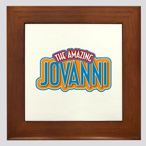 The Amazing Jovanni Framed Tile