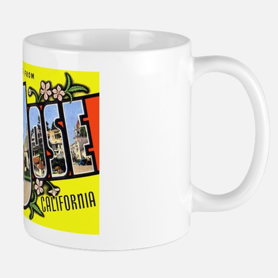 San Jose California Greetings Mug