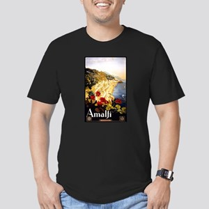 Antique Italy Amalfi Coast Travel Poster T-Shirt