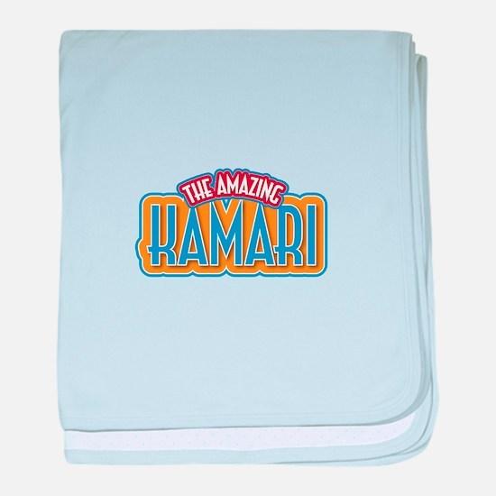The Amazing Kamari baby blanket