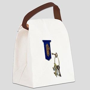 UnlockingTheDoor100711 Canvas Lunch Bag
