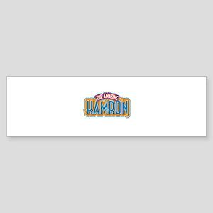 The Amazing Kamron Bumper Sticker