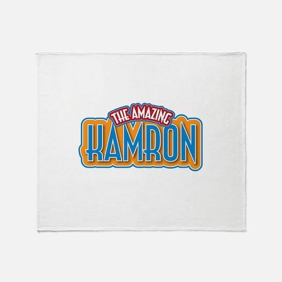 The Amazing Kamron Throw Blanket
