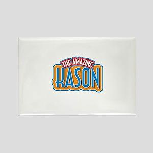 The Amazing Kason Rectangle Magnet