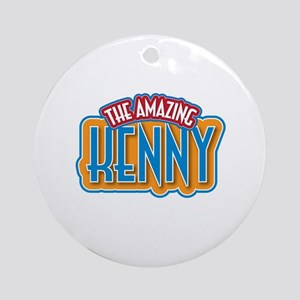 The Amazing Kenny Ornament (Round)