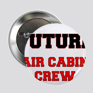 """Future Air Cabin Crew 2.25"""" Button"""