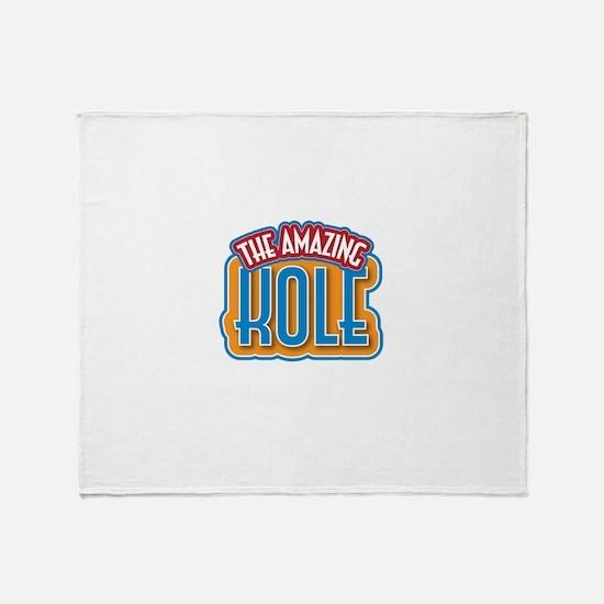 The Amazing Kole Throw Blanket