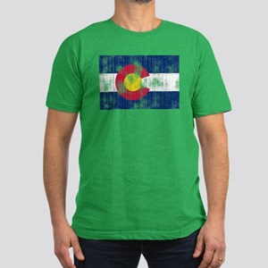 Colorado Men's Fitted T-Shirt (dark)