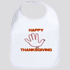 Happy Turkey Day Bib
