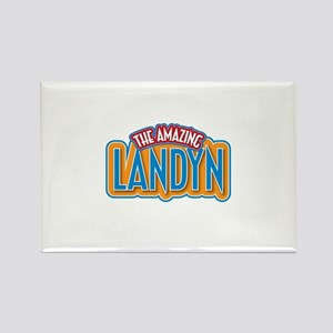 The Amazing Landyn Rectangle Magnet