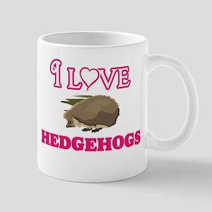 I Love Hedgehogs Mugs