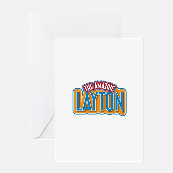 The Amazing Layton Greeting Card