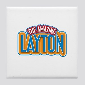 The Amazing Layton Tile Coaster