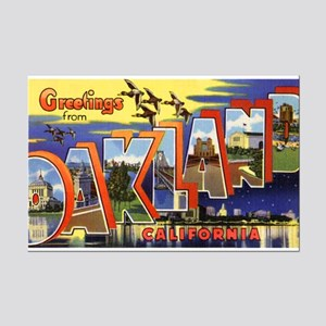 Oakland California Greetings Mini Poster Print