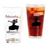 Jahworks African Dancer Drinking Glass