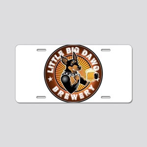 Little Big Dawg Brewery Aluminum License Plate
