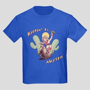 Keepin' It Austin Kids Dark T-Shirt