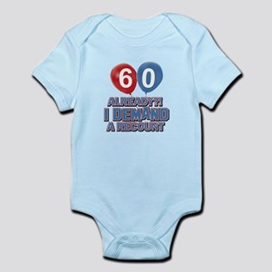 60 years birthday gifts Infant Bodysuit