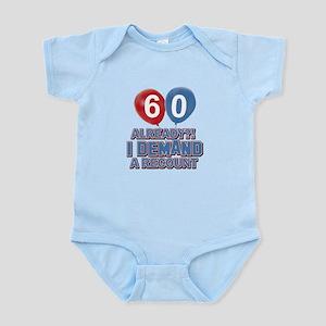 60 years birthday gifts Infant Bodysuit