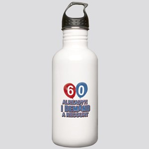60 years birthday gifts Stainless Water Bottle 1.0