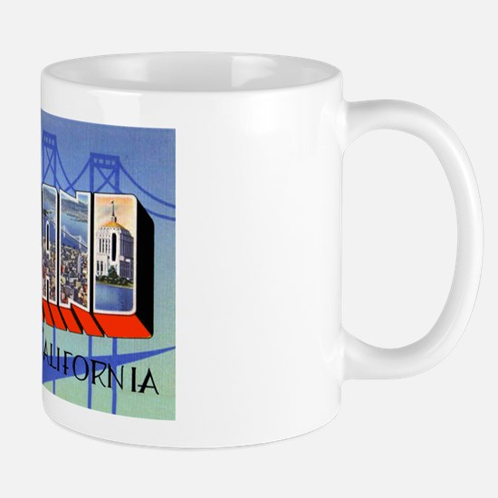 Oakland California Greetings Mug
