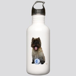 Cairn Terrier Football Stainless Water Bottle 1.0L