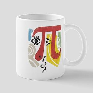 Pi-Casso Pi Symbol Mug