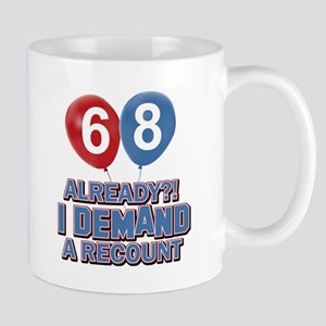 68 years birthday gifts Mug