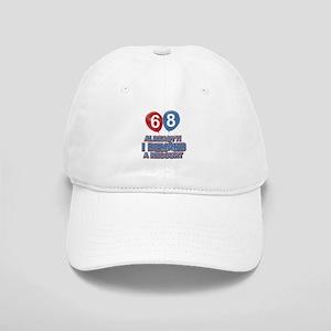68 years birthday gifts Cap