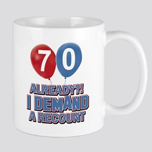 70 years birthday gifts Mug