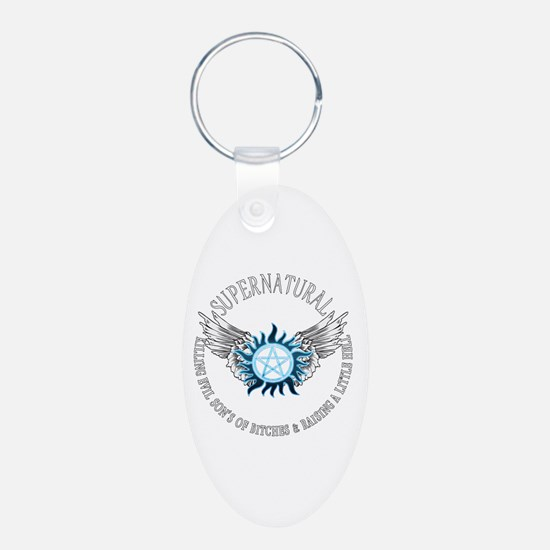 Supernatural protection Symbal Wings 03 Keychains