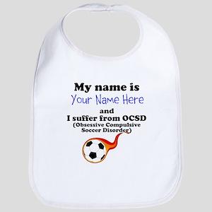 Custom Obsessive Compulsive Soccer Disorder Bib