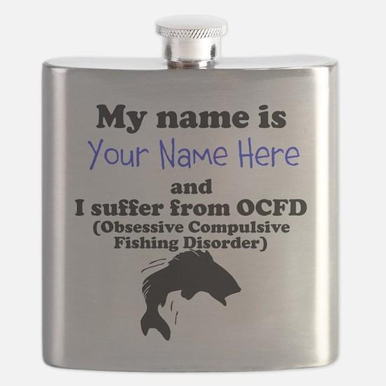 Custom Obsessive Compulsive Fishing Disorder Flask