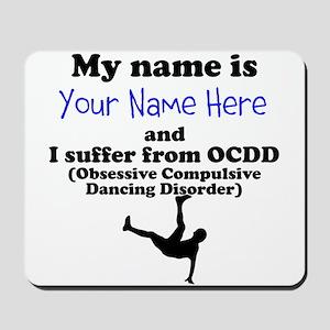 Custom Obsessive Compulsive Dancing Disorder Mouse