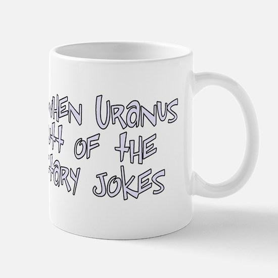 Unique Uranus Mug