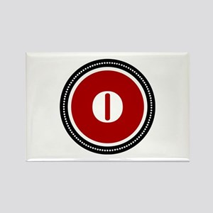 Red Rectangle Magnet