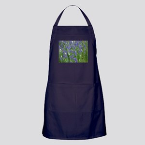 Texas Bluebonnets in Bloom Apron (dark)