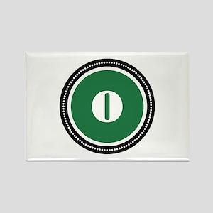 Green Rectangle Magnet