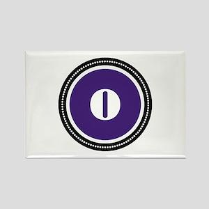 Purple Rectangle Magnet