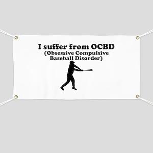 Obsessive Compulsive Baseball Disorder Banner