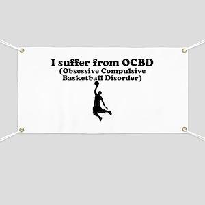 Obsessive Compulsive Basketball Disorder Banner