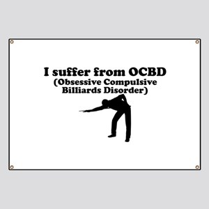 Obsessive Compulsive Billiards Disorder Banner
