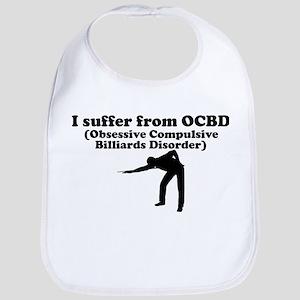 Obsessive Compulsive Billiards Disorder Bib