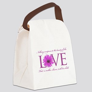 Nothing Compares to a Mothers Love - Purple Canvas